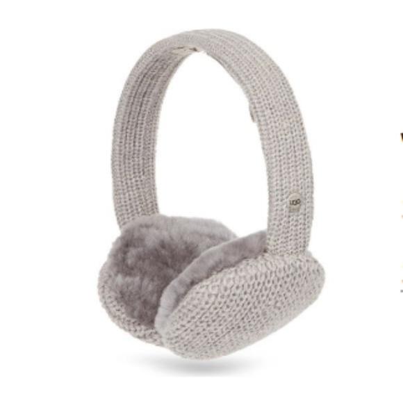 b4c0e7510ed Ugg Grey Cardy Knit Earmuffs